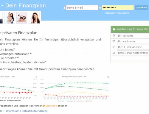 Deine private Finanzplanung